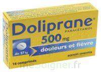 DOLIPRANE 500 mg Comprimés 2plq/8 (16) à Oloron Sainte Marie