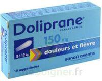 DOLIPRANE 150 mg Suppositoires 2Plq/5 (10) à Oloron Sainte Marie
