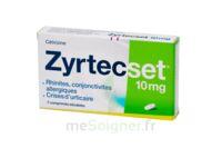 ZYRTECSET 10 mg, comprimé pelliculé sécable à Oloron Sainte Marie