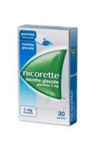 NICORETTE 2 mg Gom à mâcher médic sans sucre menthe glaciale Plq/30gom à Oloron Sainte Marie
