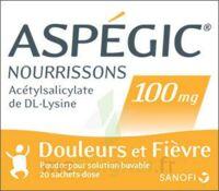 ASPEGIC NOURRISSONS 100 mg, poudre pour solution buvable en sachet-dose à Oloron Sainte Marie