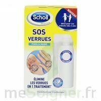 Scholl SOS Verrues traitement pieds et mains à Oloron Sainte Marie