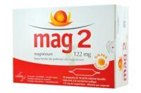MAG 2 SANS SUCRE 122 mg, solution buvable en ampoule édulcoré à la saccharine sodique à Oloron Sainte Marie