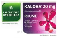 KALOBA 20 mg Cpr pell Plq/21 à Oloron Sainte Marie