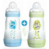MAM BIBERON EASY START anti-colique 260 ml lot de 2_ BLEU & VERT à Oloron Sainte Marie