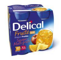 DELICAL BOISSON FRUITEE Nutriment multi fruits 4Bouteilles/200ml à Oloron Sainte Marie