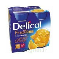 DELICAL BOISSON FRUITEE Nutriment orange 4Bouteilles/200ml à Oloron Sainte Marie