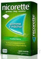 NICORETTE 2 mg Gom à mâcher médic sans sucre menthe fraîche Plq/30gom à Oloron Sainte Marie