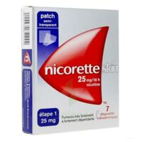 Nicoretteskin 25 mg/16 h Dispositif transdermique B/28 à Oloron Sainte Marie