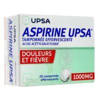 ASPIRINE UPSA TAMPONNEE EFFERVESCENTE 1000 mg, comprimé effervescent à Oloron Sainte Marie