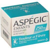 ASPEGIC ENFANTS 250, poudre pour solution buvable en sachet-dose à Oloron Sainte Marie