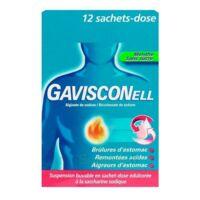 GAVISCONELL Suspension buvable sachet-dose menthe sans sucre 12Sach/10ml à Oloron Sainte Marie