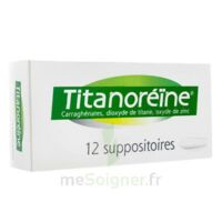 TITANOREINE Suppositoires B/12 à Oloron Sainte Marie