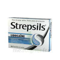 Strepsils lidocaïne Pastilles Plq/24 à Oloron Sainte Marie
