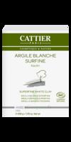 Cattier Argile Poudre surfine blanche 200g à Oloron Sainte Marie