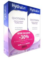 Hydralin Quotidien Gel lavant usage intime 2*200ml à Oloron Sainte Marie